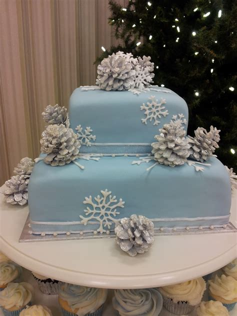 kiddles n bits winter wonderland wedding cake