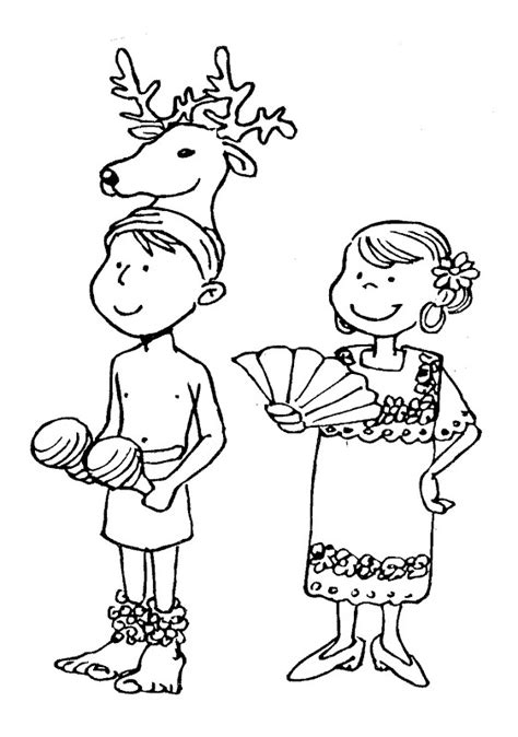 mexican dresses coloring pages traditional dress of sonora m 233 xico coloring pages