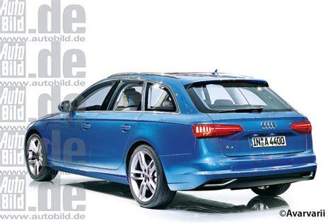 Audi A4 Neues Modell 2015 by Audi A4 Iaa 2015 Vorschau Bilder Autobild De
