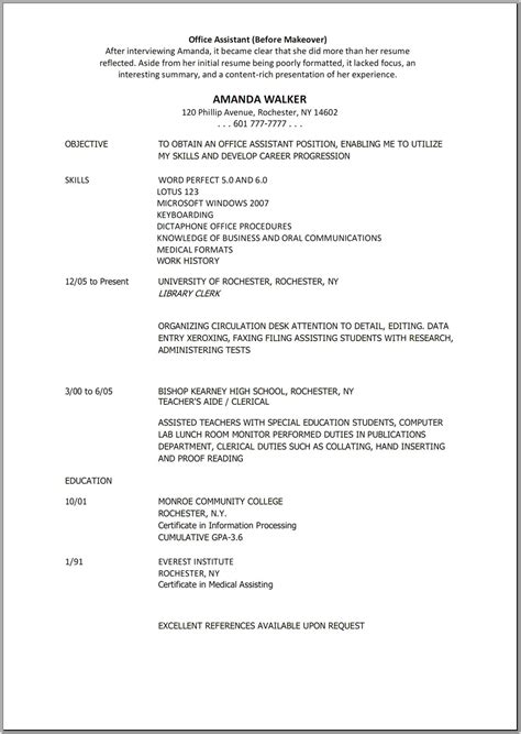 general office clerk resume student resume template student resume template