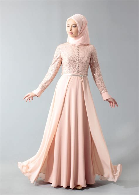 Gamis Elegan gamis brokat kombinasi polos yang elegan dan 35 model