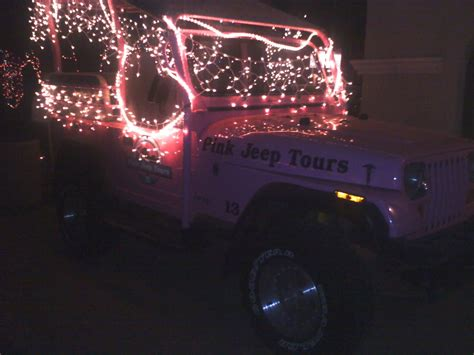 jeep christmas lights starbucks food art culture