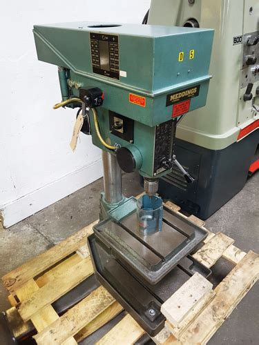 meddings bench drill meddings mb4 bench drill bw machine tools