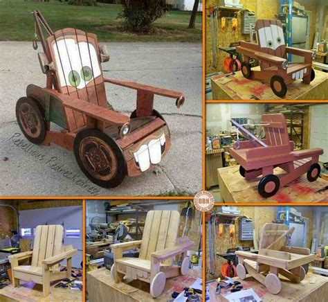 mater furniture diy quot tow mater quot adirondack chair do it yourself fun ideas