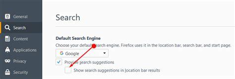 Turn Address Bar Search How To Turn Address Bar Suggestion In Firefox 55