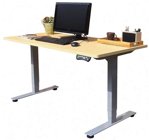 adjustable height adjustable desk