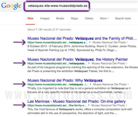 Search For Website Tip How To Search Inside A Website Web Design And Multimedia Production