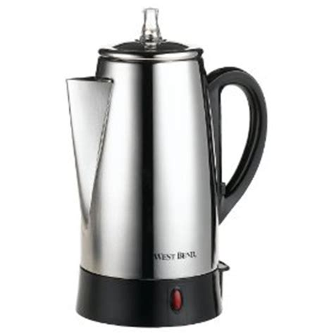 Coffee Maker Daalderop west bend 5 9 cup percolator