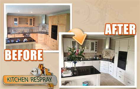 see some before and after kitchen resprays kitchen respray