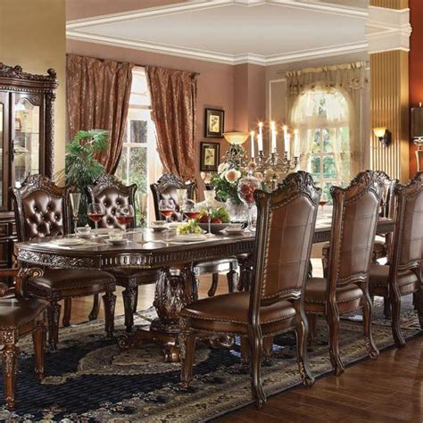 Acme Dining Room Furniture Acme Furniture Vendome Pedestal Dining Table Nassau Furniture Dining Tables