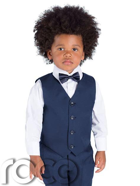 3 M Boy boys navy suits page boys suits waistcoat suits mesh blue suit 3m 8 yrs ebay