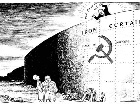 why was the iron curtain a problem cold war quot iron curtain quot fulton speech lesson by