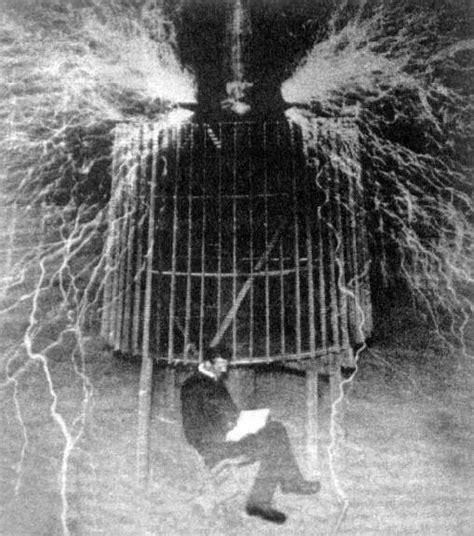 Tesla Experiment Nikola Tesla Electrical Genius