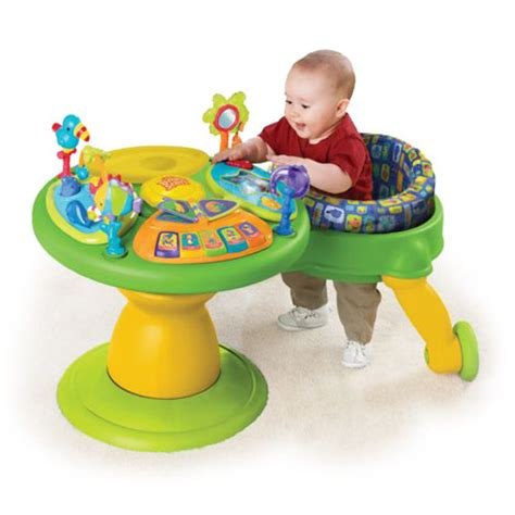 Bright Starts Activity Table by Bright Starts Tropical Around We Go Activity Station