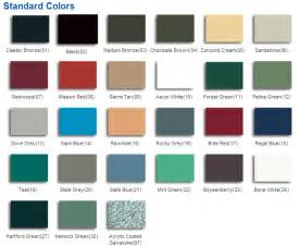 metal roofing colors how to choose metal roof color