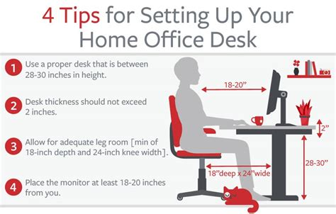 how to correctly setup the perfect home office bit rebels how to set up your desk best home design 2018