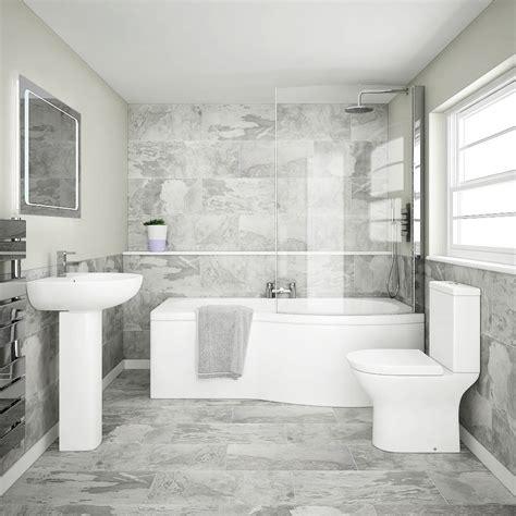 cruze modern shower bath suite    victorian