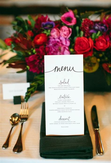 design a menu card 40 smart and creative menu card design ideas