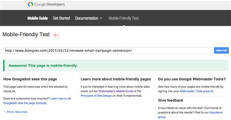landing pages and microsites in the newest google update