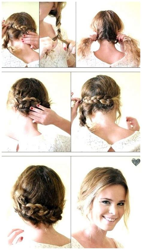 Easy Wedding Hairstyles Bridesmaid by 17 Best Images About Simple Wedding Hairstyles Ideas On
