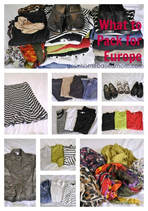 Europe Travel Wardrobe by What To Pack For Travel To Europe Your Homebased