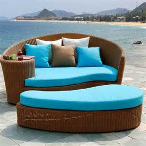 Outdoor Daybed With Canopy Aluminum Rattan Outdoor Daybed With Canopy In Rattan Wicker Chairs From Furniture On