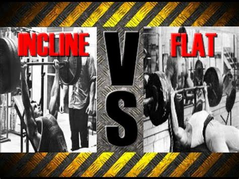 incline bench press vs flat bench press incline bench press vs flat bench press technique youtube