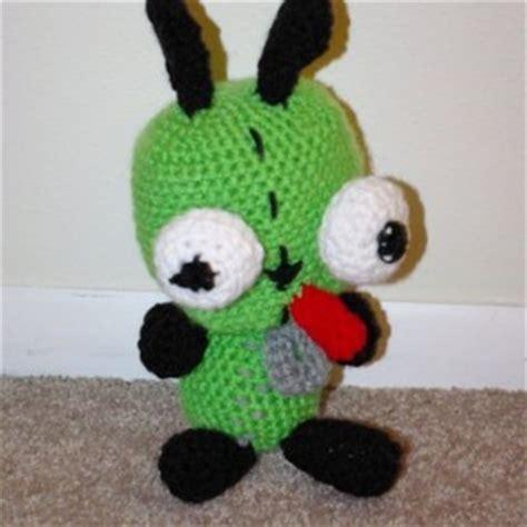 amigurumi gir pattern invader zim gir crochet plush amigurumi doll aftcra