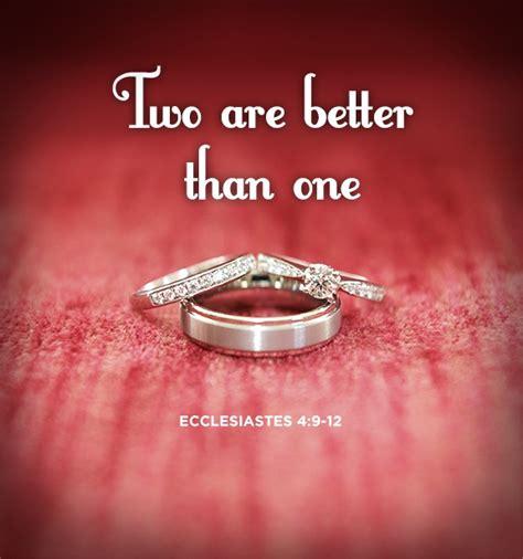 Wedding Anniversary Bible Verses Kjv by Ecclesiastes 4 9 12 Bible Ecclesiastes