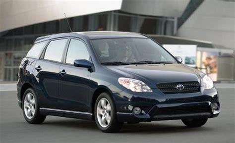 toyota matrix xrs car and driver
