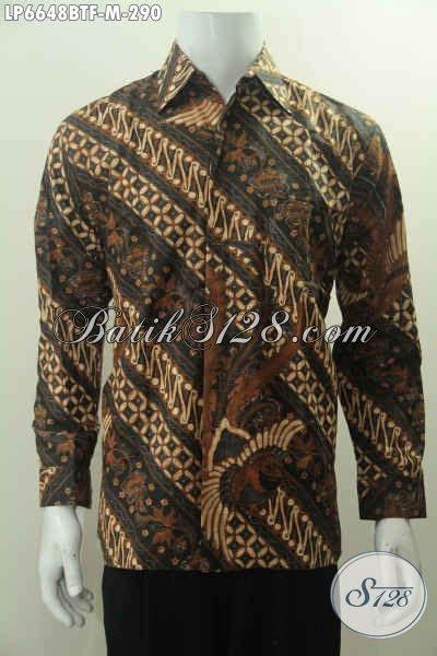 Hem Batik Lengan Panjang Motif Klasik Jogjaan Hem Batik Halus Lengan Panjang Motif Klasik Kombinasi