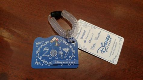 Can You Use Disney Gift Cards For Food At Disneyland - gift card wristlets are back at this year s food wine festival