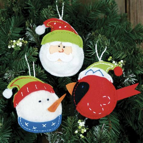 weekend kits blog easy felt crafts christmas stockings ornaments