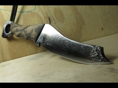 how to make knives how to make a knife