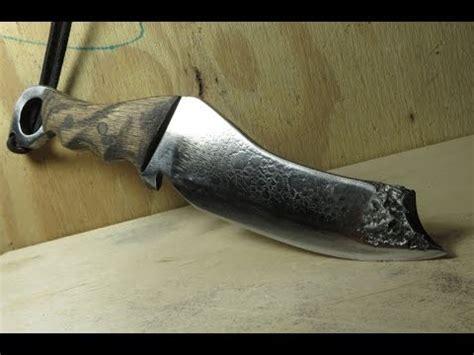make knives how to make a knife