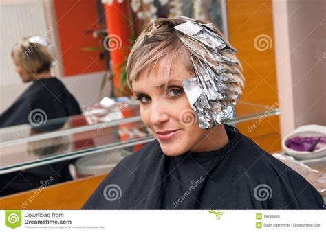 winthrop hair salons specializing in color woman in hair salon royalty free stock photos image