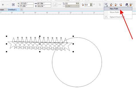 cara membuat gambar transparan di corel x5 cara mudah membuat objek bintang melingkar dengan corel