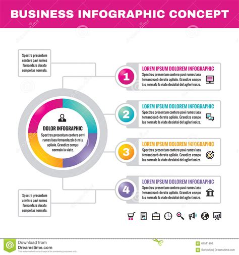 infographic layout vector infographic business concept vector illustration creative