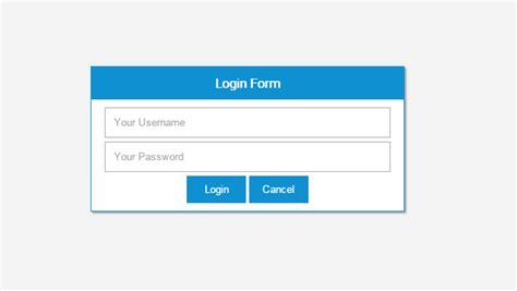 cara membuat form login dengan php mysql nyekrip membuat login form simple dan menarik dunia php mysql