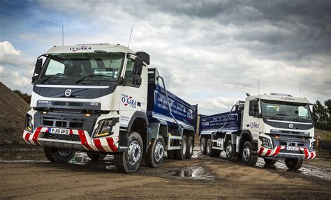 first volvo truck first volvo trucks for ten years join frank o gara sons