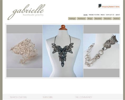 Handmade Websites - best jewelry websites