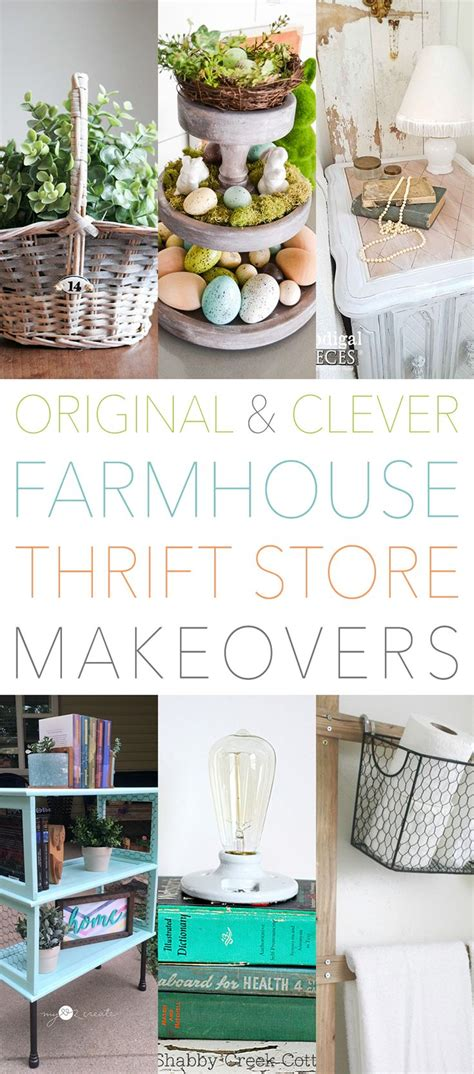 Thrifty Clever by Original And Clever Thrift Store Makeovers Quot Diy Crafts