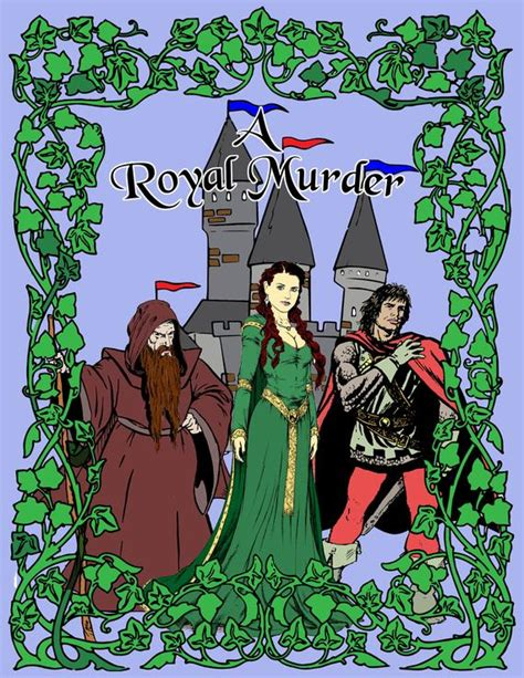 A Royal Murder a royal murder mystery kit etsy