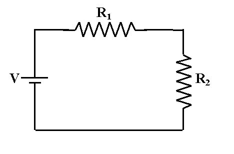 resistor in series diagram two resistors r1 110 and r2 30 are connected in chegg