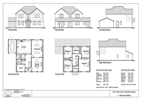 4 bedroom timber frame house plans kingstanding 4 bedroom house design solo timber frame