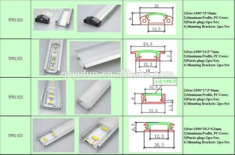 Built In Kitchen Desk built in linear aluminum led module new profile system