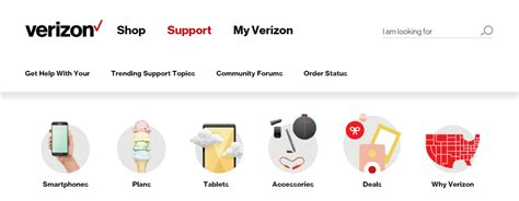 Verizon Home Page by Verizon Content Audit Less Is More With Content