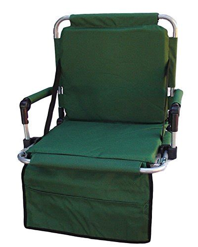 portable stadium seats with backs and arms portable folding stadium seat with padded arms seat and