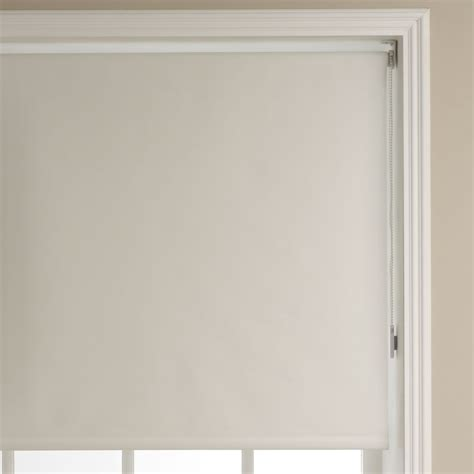 Wilko Blackout Roller Blind Cream 180cm wide x 160cm drop at wilko.com