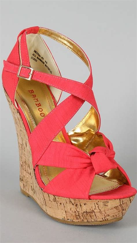 summer wedge shoes